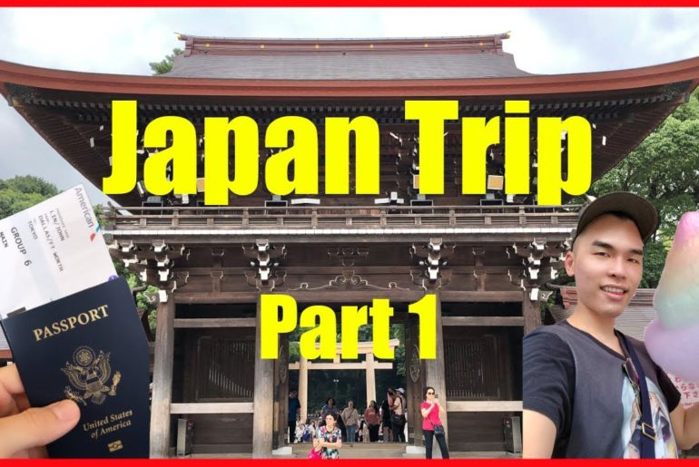 First Time in Tokyo Japan   Part 1