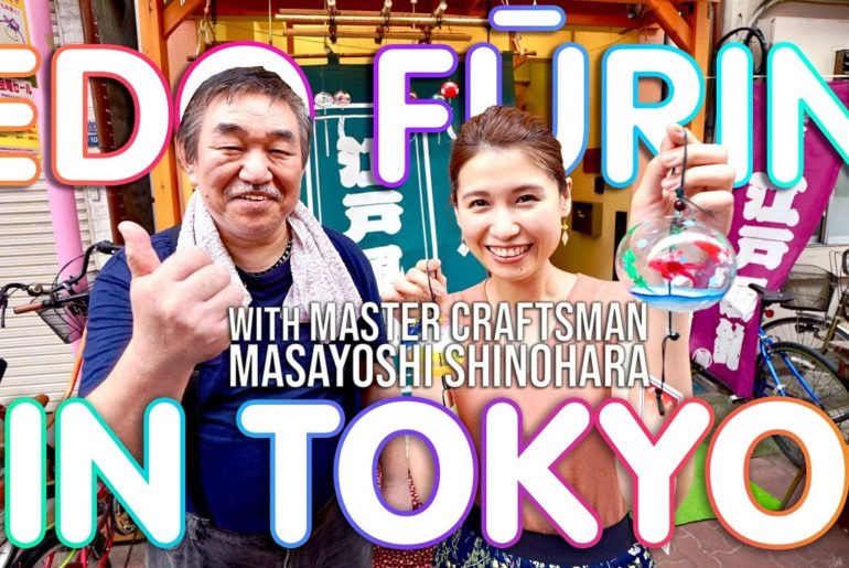 KONCHA EP1: Make your own Japanese Edo Wind Chime in Tokyo!