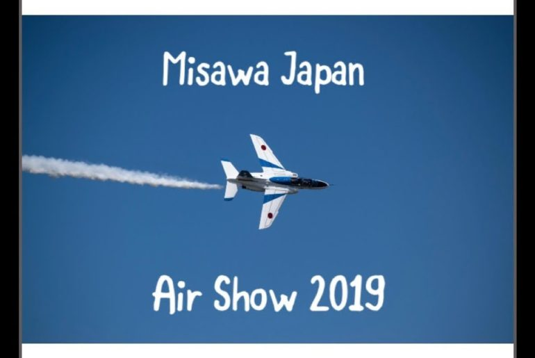 Misawa AB Air Show 2019 | Japan Travel Vlog