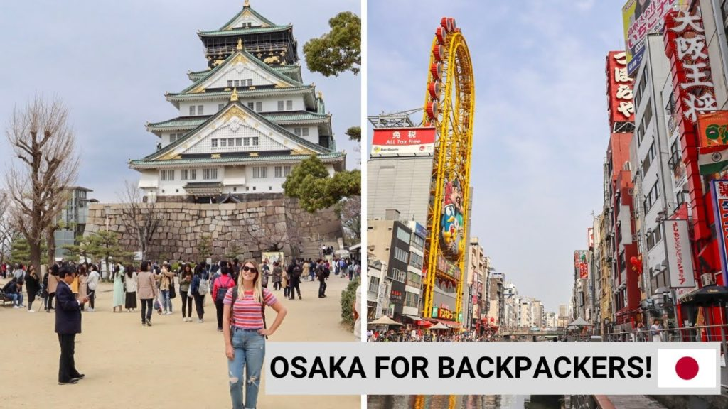 FREE & BUDGET FRIENDLY THINGS TO DO IN OSAKA! | Backpacking Japan Vlog 1