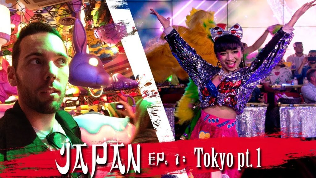 CRAZY TOKYO and THEMED CAFES | Japan Travel Video