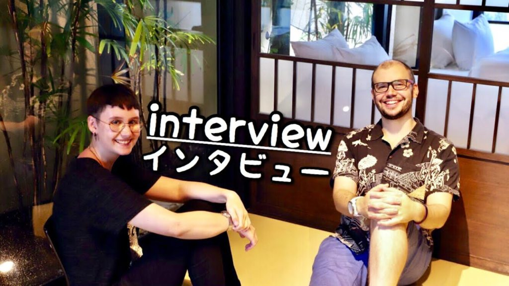 German student visiting Mochimune JAPAN | Interview 日本語 (Eng Subs)