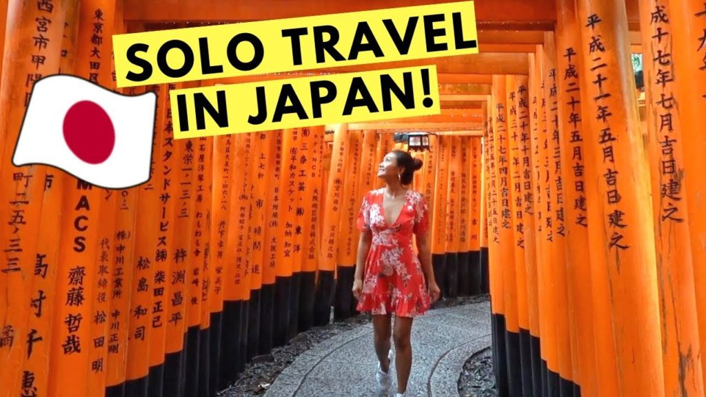 my SOLO TRAVEL experience in JAPAN! (Osaka & Kyoto)
