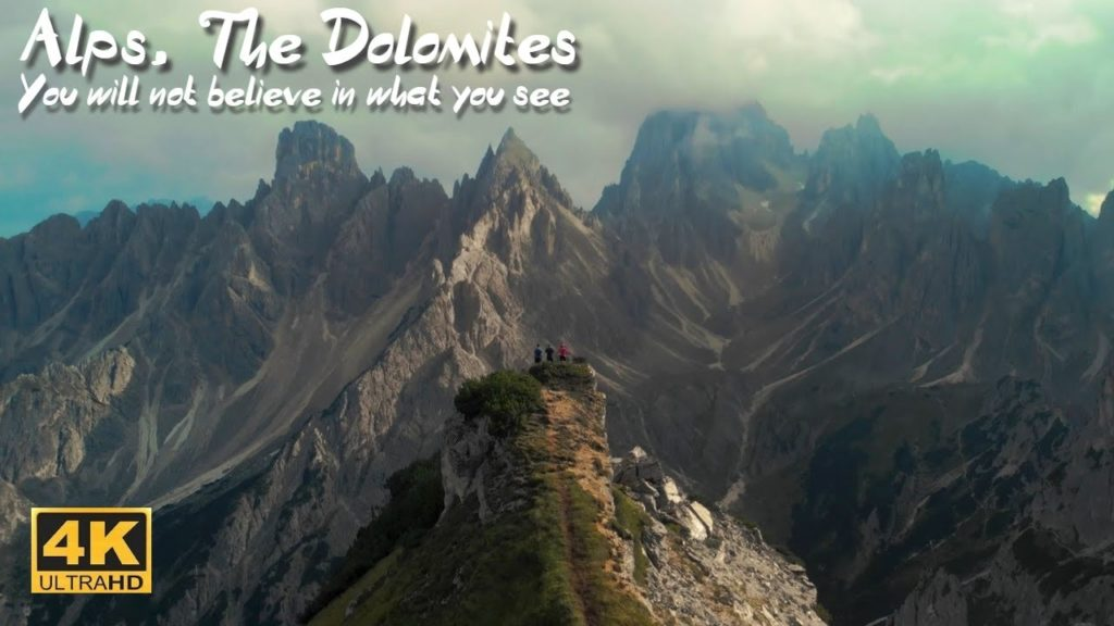 Dolomites 4k. You Won't Believe This Is In Italy.