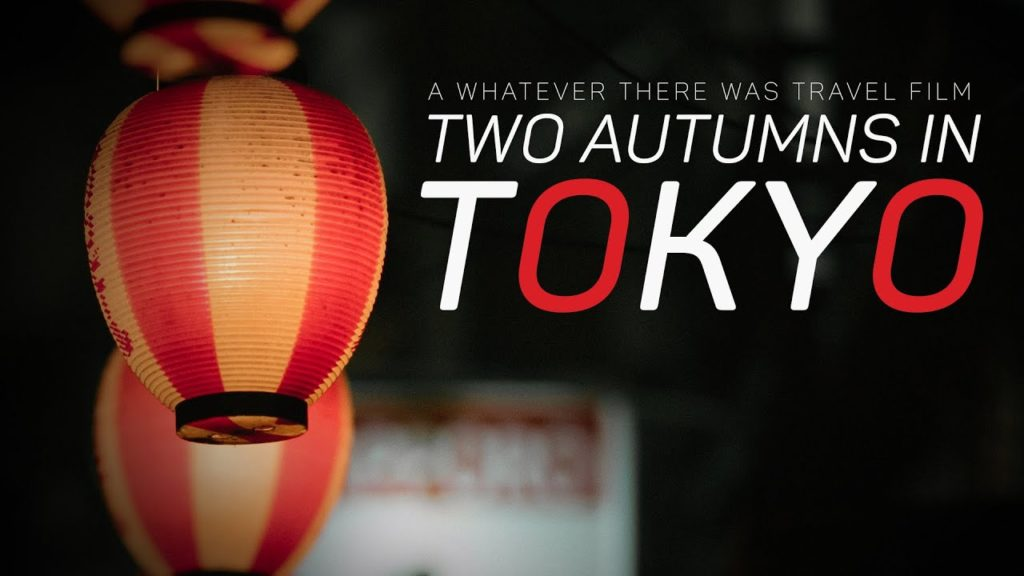 Travel Japan: Two Autumns in Tokyo