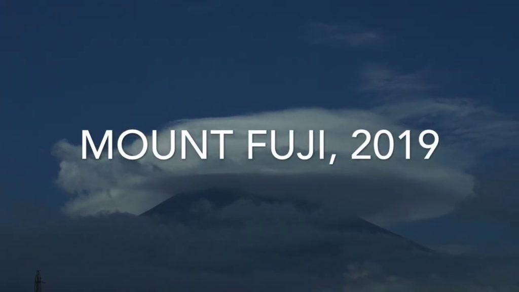 Our Journey: Mount Fuji