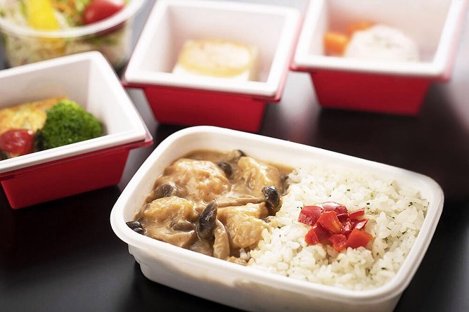 . New In-flight meals, prepared by up-and-coming chefs, for JAL International Pr...