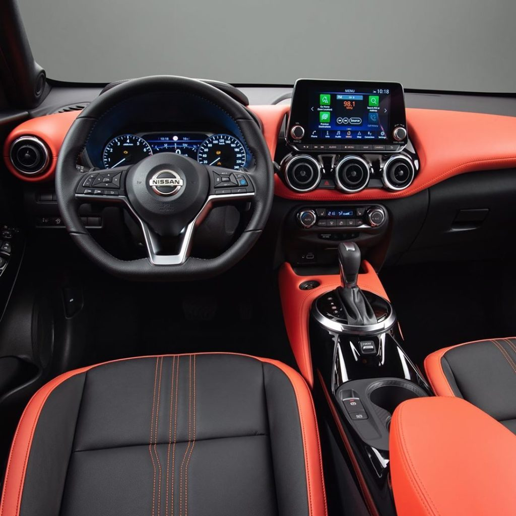 The bold interior and details of the all-new #NissanJUKE, which arrived in Europ...