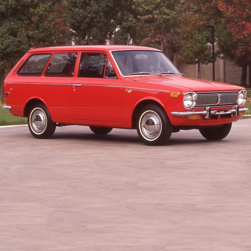 Quality never goes out of style! #TBT #Corolla #1970 #LetsGoPlaces...