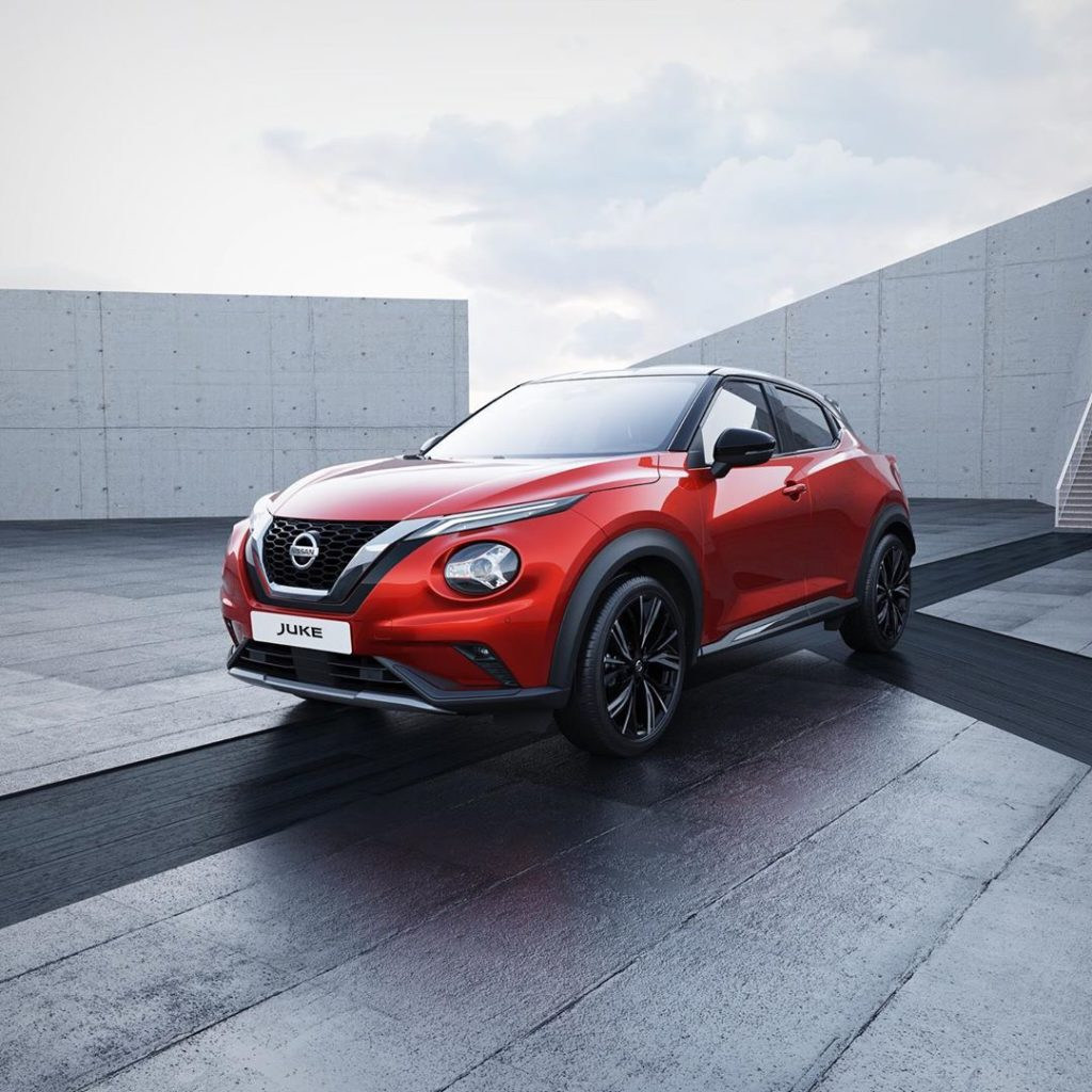 The all-new #NissanJUKE with its athletic design has arrived in Europe, loaded w...
