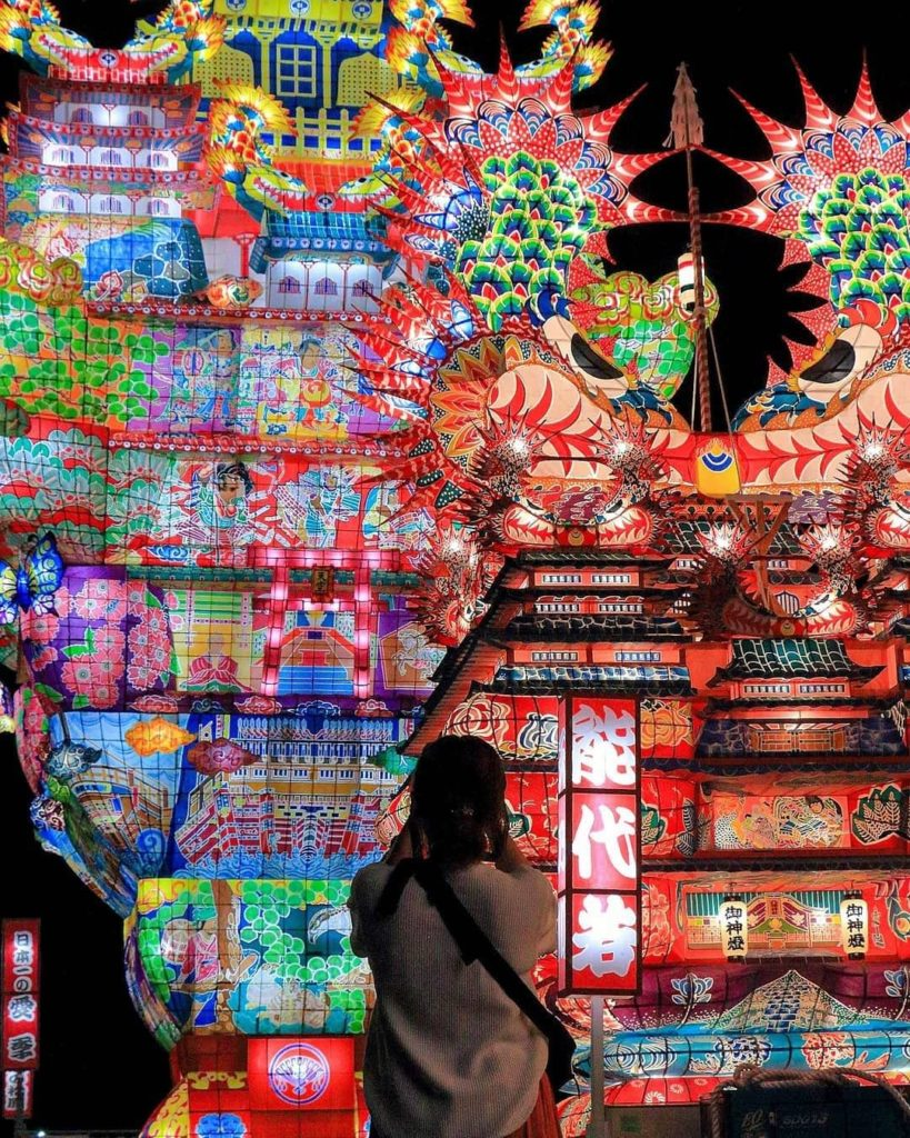 Is the Noshiro Tanabata festival on your bucket list yet?  Held in early August ...