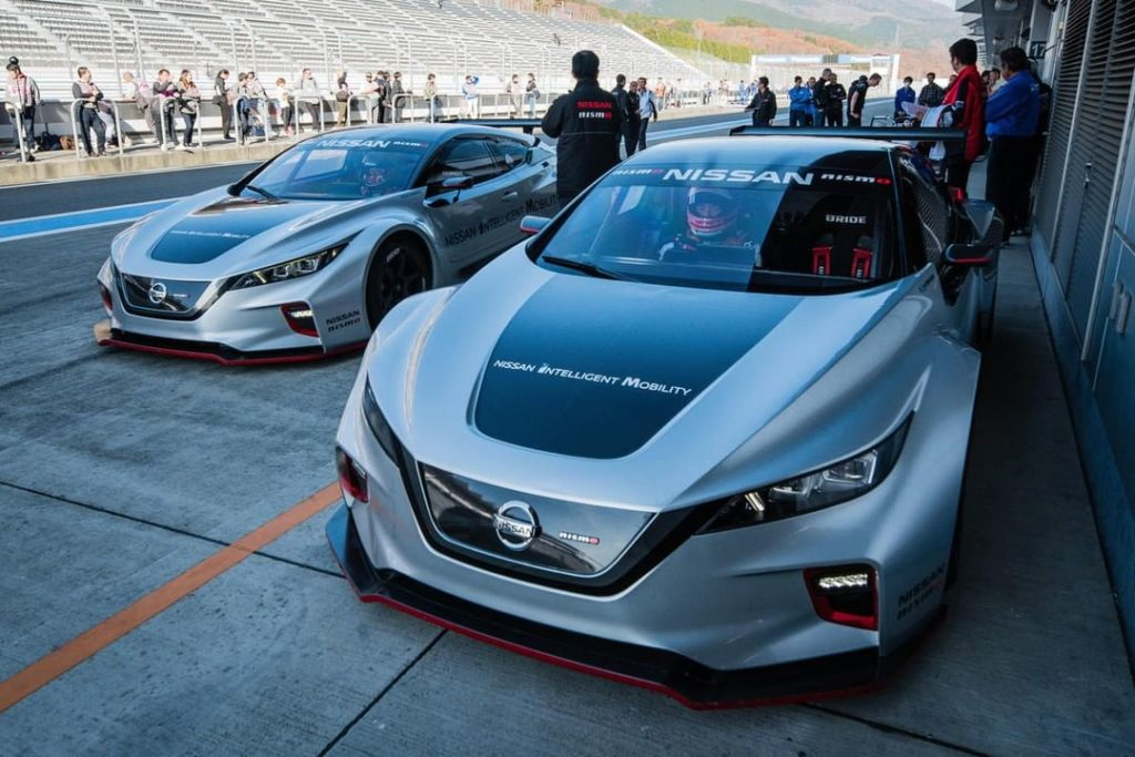 We didn't stop at just one #NissanLEAF #NISMO RC. Oh no, we made six, and they'v...