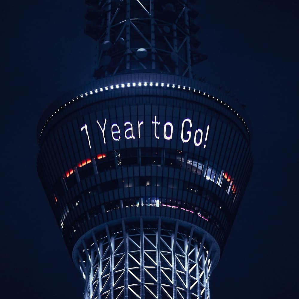 That's a wrap! Thank you everyone for joining our #1YearToGo until the Tokyo 202...