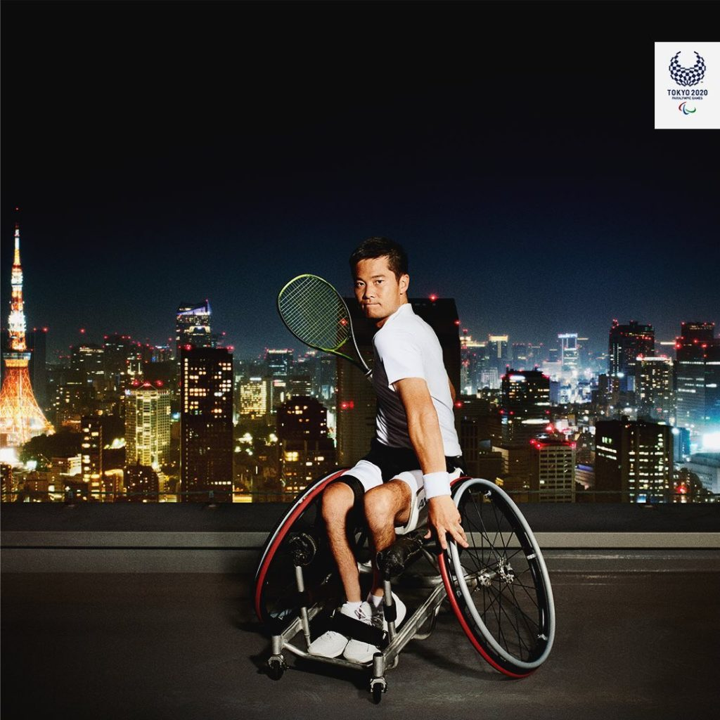 A world class skyline paired with a world class champion  Three-time Paralympic...
