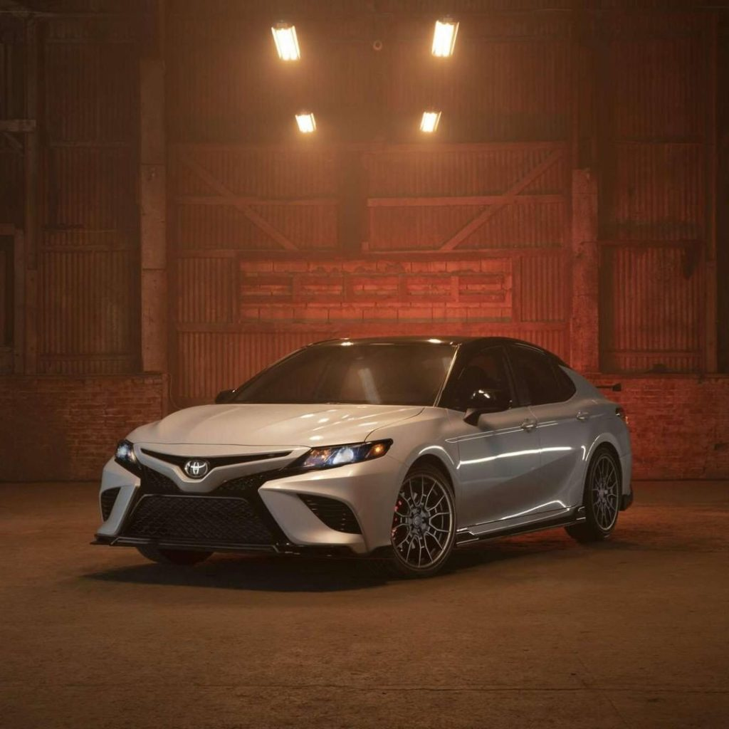 Ignite your fire in the new 2020 #Camry #TRD #LetsGoPlaces...