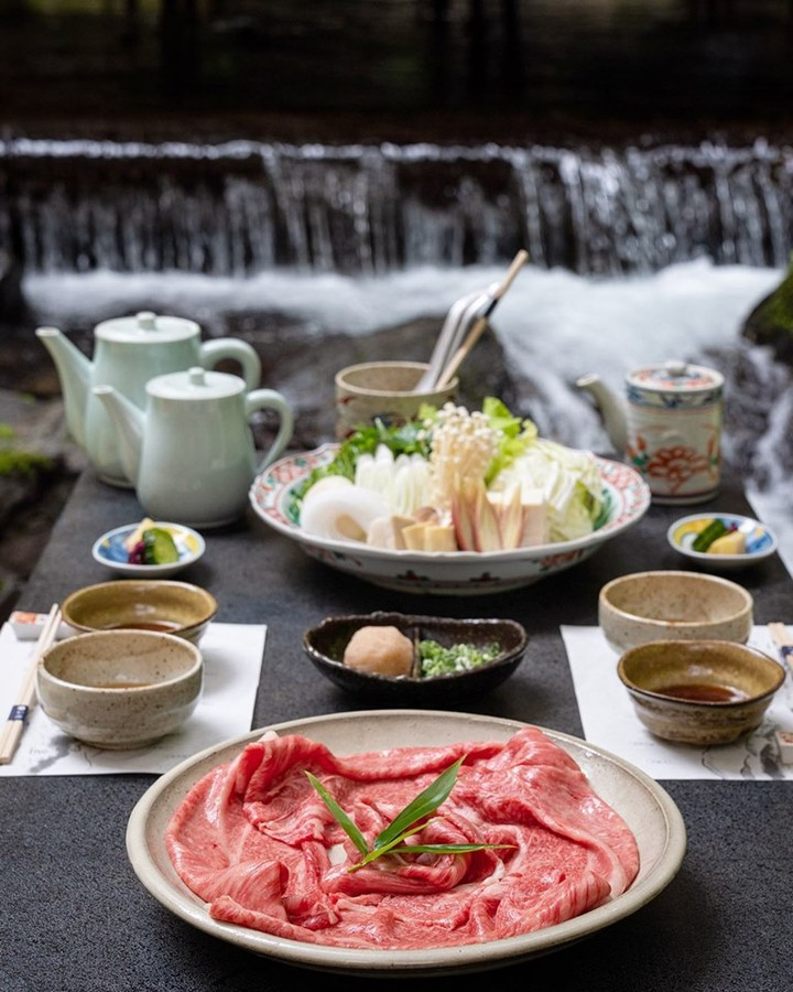 Kawadoko (river dining) is one of the unique experiences  visitors can enjoy in ...