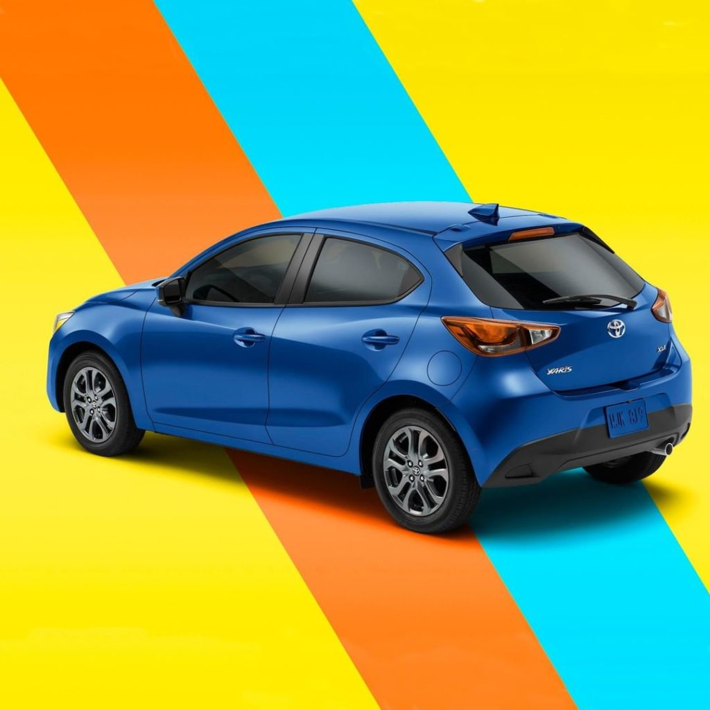 Business in front, party in the back. #Yaris #LetsGoPlaces...