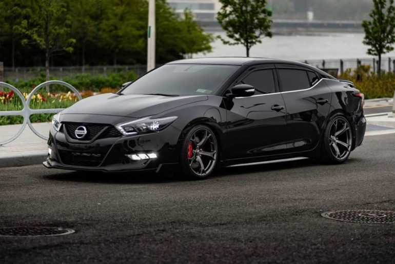 On today's edition of curb side views: #NissanMaxima #Nissan #Maxima  @ke.vi.n  ...