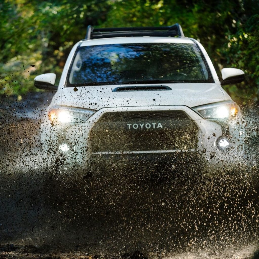 No adventure is too wild for #4Runner #TRD! #LetsGoPlaces...