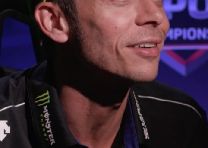 We've all seen @valeyellow46 ride at the Misano World Circuit in real life, but ...