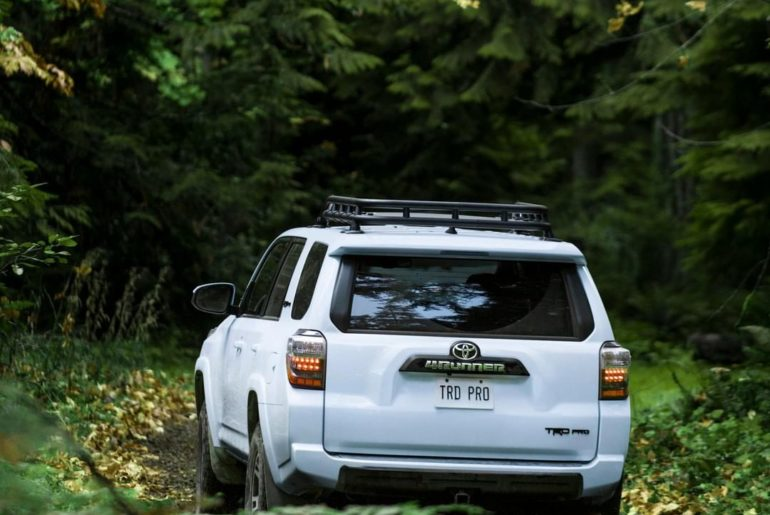 The best stories begin where the road ends! #4Runner #TRD #LetsGoPlaces...
