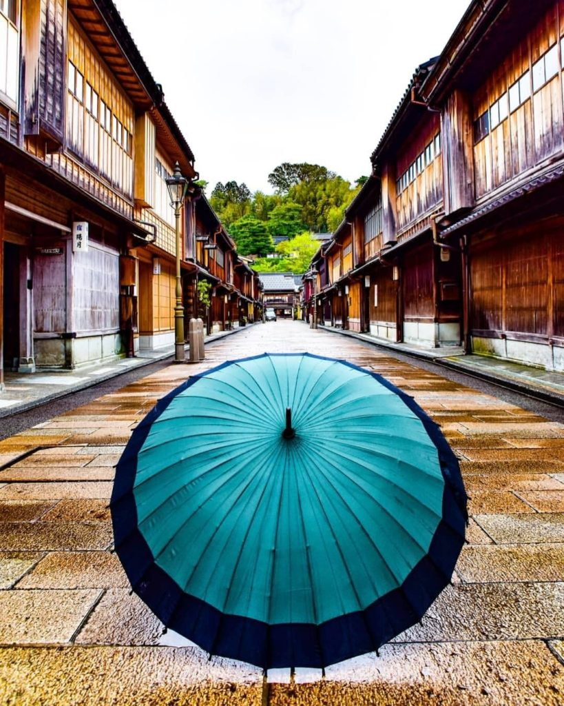 Rain, hail or shine, we're big fans of Kanazawa's Higashi Chaya District, which ...