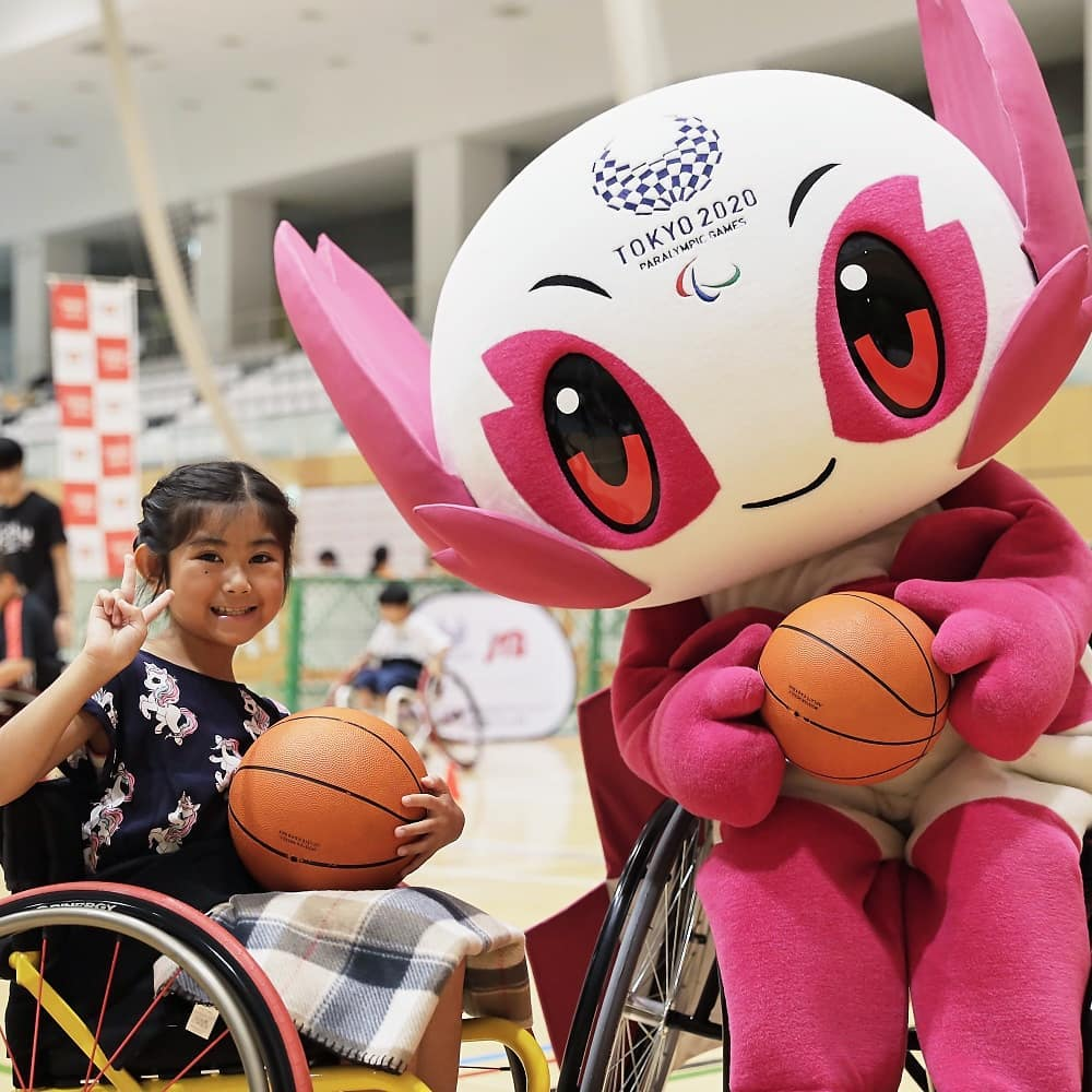 Lets 55 is for everyone of all ages!   The Tokyo2020 Paralympic Games will be a ...