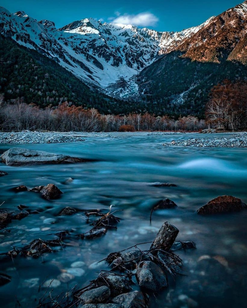 Part of the Chubu Sangaku National Park in the Northern Japan Alps, Kamikochi is...