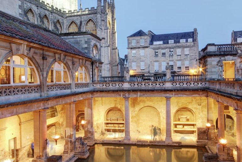 """. The word """"""""BATH"""""""" originates from the ancient spa city of Bath England.  First..."""