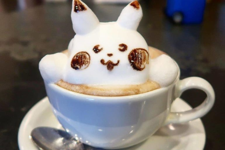 Let's be honest, when you can get a PIKACHU latte, why would you ever want to dr...
