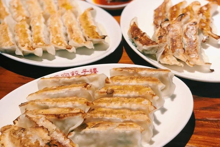 One gyoza, two gyoza, three gyoza, four...  Pay a visit to Harajuku Gyoza Lou in...