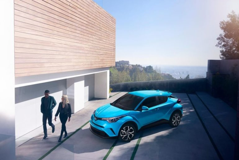 Home is where your #ToyotaCHR is. #LetsGoPlaces...