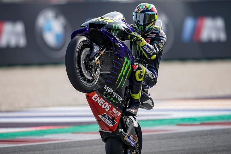 "@valeyellow46 : ""I was hoping to fight for the podium, because it would have bee..."