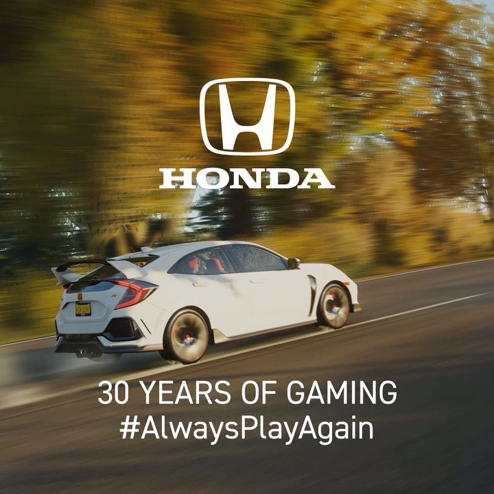 Challengers accepted. We #AlwaysPlayAgain. Continue to celebrate 30 years of Hon...