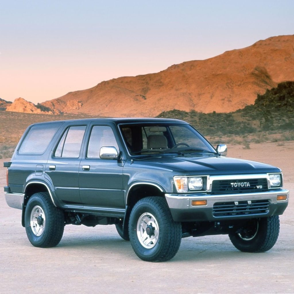Oh snap! That's a nice ride! #TBT #4Runner #1990 #LetsGoPlaces...