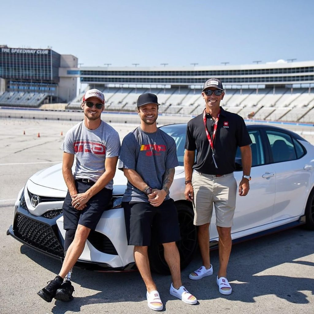 Our #TeamToyota athletes represented at the #TRD Track Preview. You can't go wro...