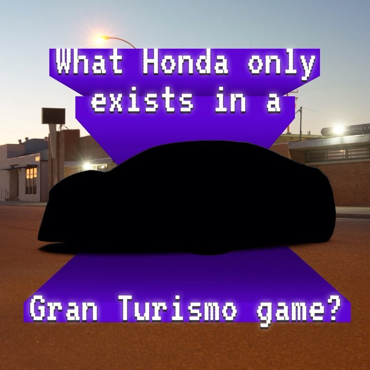 Futuristic. Lightweight. Fast. The Honda Sports Vision GT is only playable in #G...