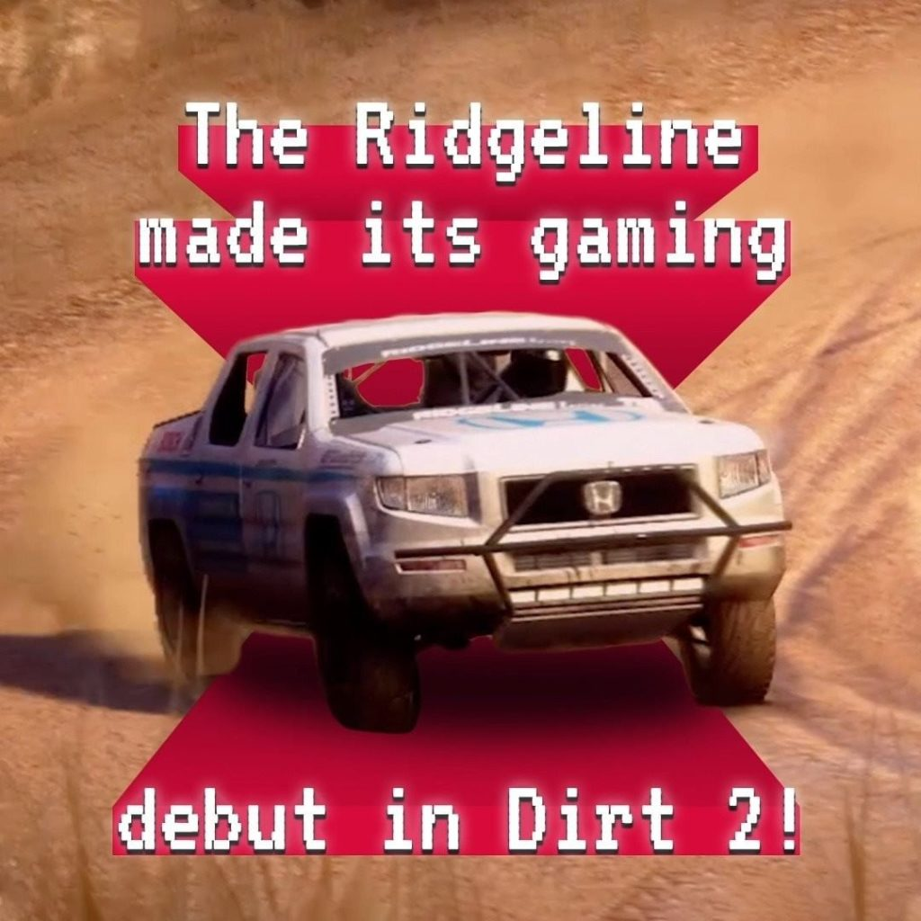 10 years since its gaming debut, the #Ridgeline still looks amazing in Dirt 2. C...