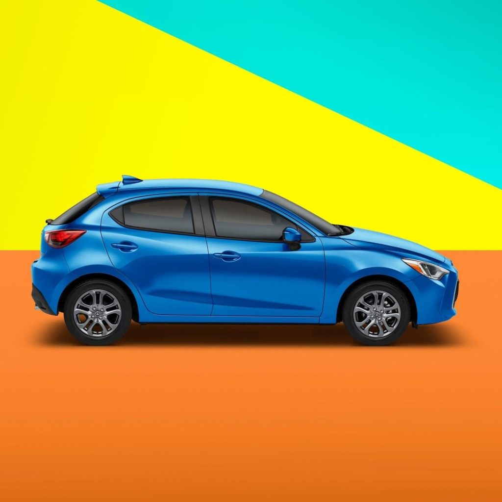 A streamlined silhouette with room for whatever the day throws at you! #Yaris #L...