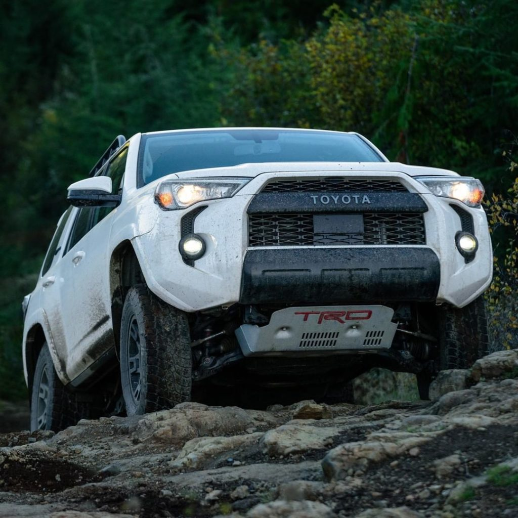 King of the hill! #4Runner #TRD #LetsGoPlaces...