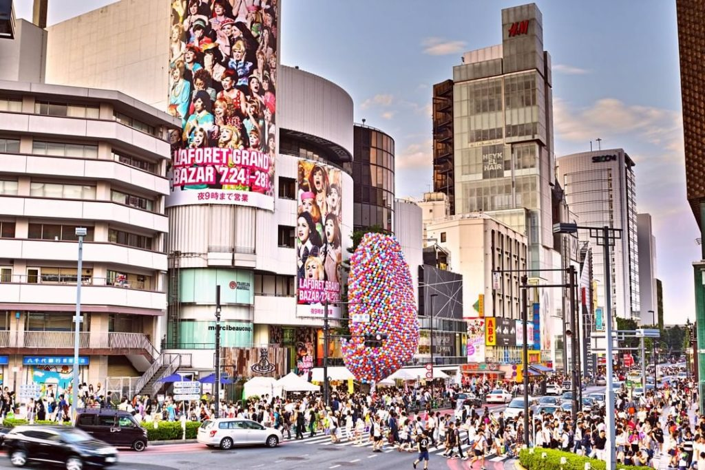 Home of Japan's streetwear scene, Harajuku is synonymous with hip Japanese fashi...