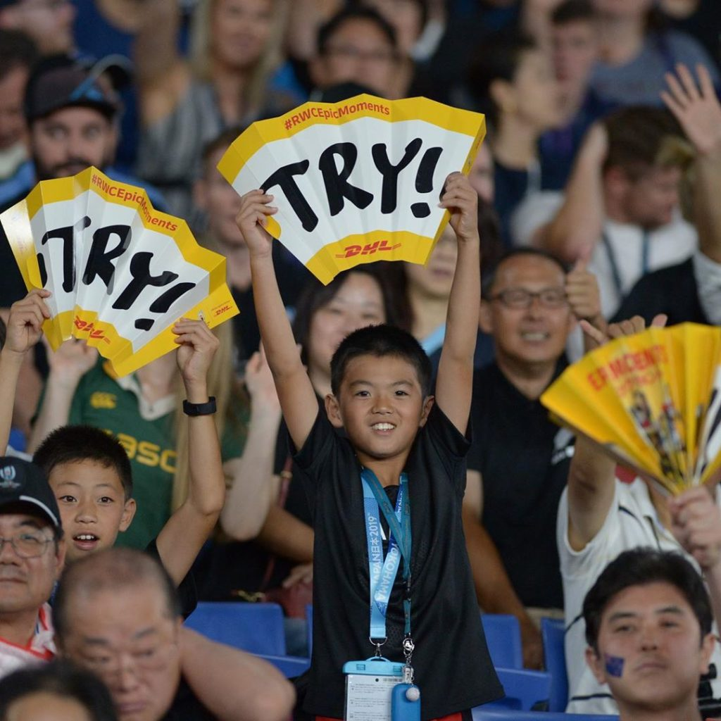 More than a few colorful characters were among the 63,649 in attendance atYokoh...