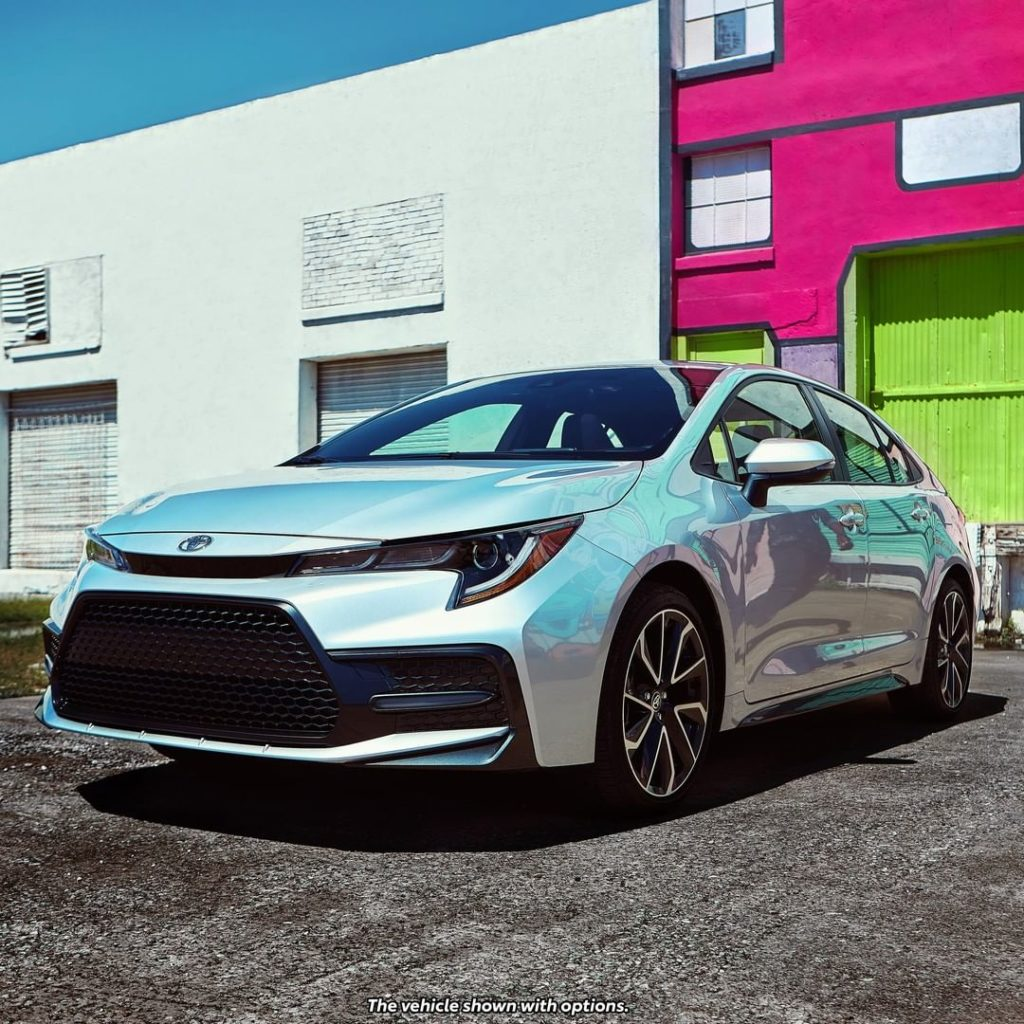 A design unmatched. #Corolla #LetsGoPlaces...