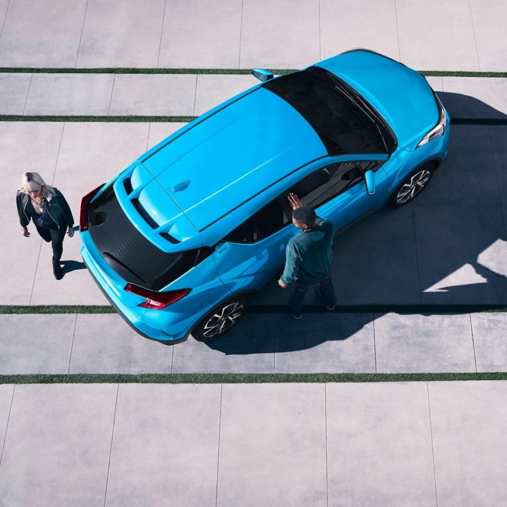 Step out in style. #ToyotaCHR #LetsGoPlaces...