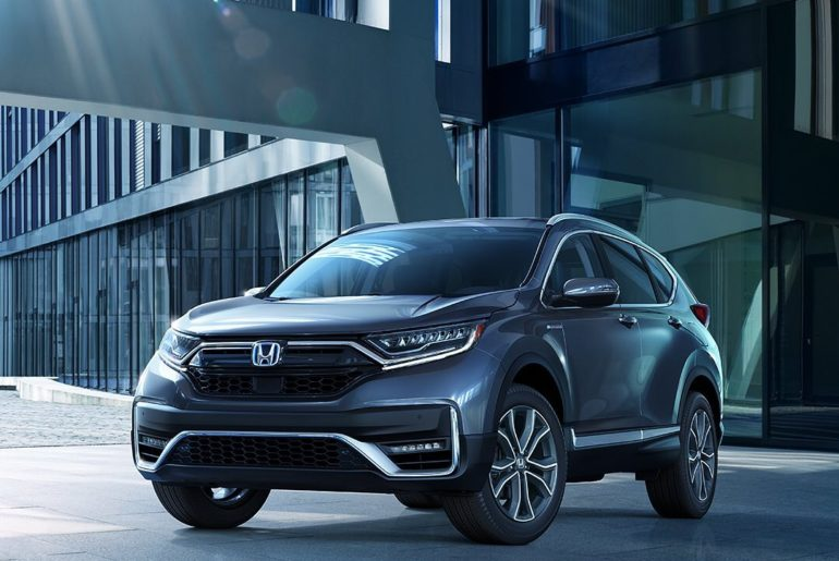 Get your first look at the redesigned 2020 #HondaCRV and all-new 2020 #CRVHybrid...