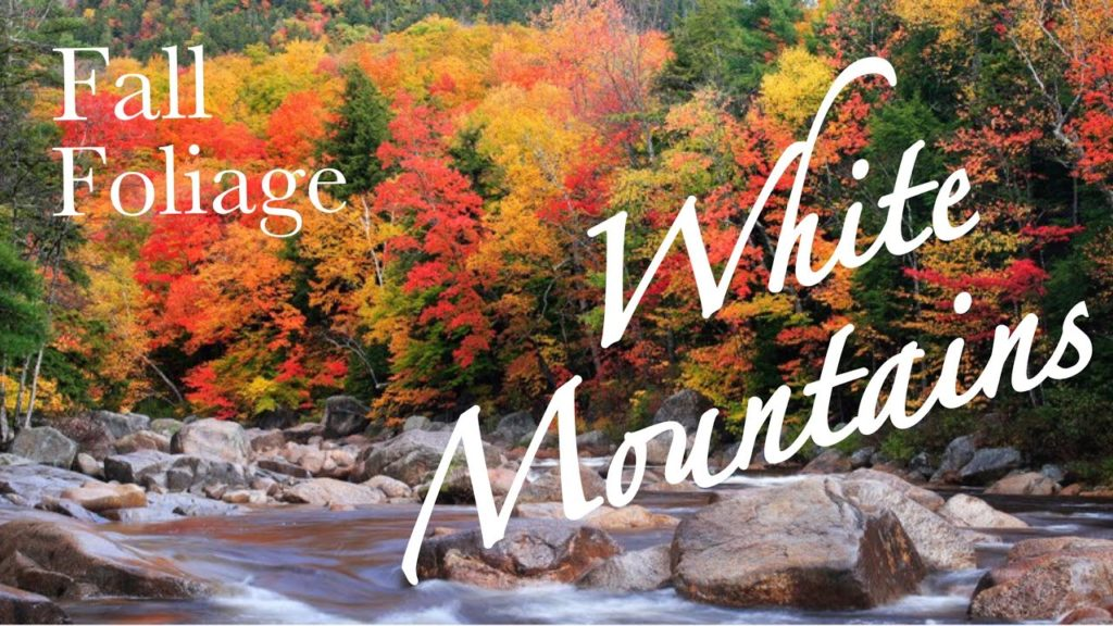 FALL FOLIAGE IN NEW HAMPSHIRE     CLOUDY DAY