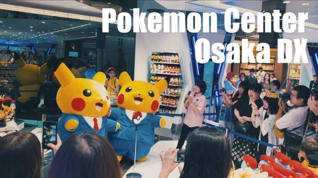 Pre-Open! Pokemon Center Osaka DX, Shinsaibashi DAIMARU [4K]