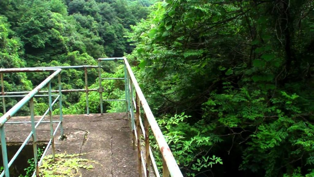 Abandoned Old Dam in Kyoto