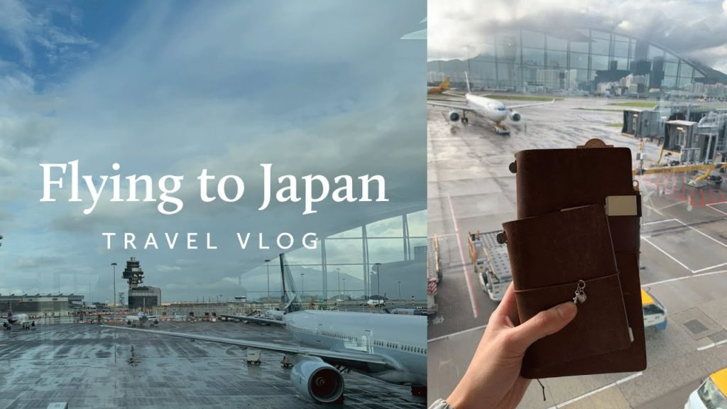 Flying to Tokyo | Japan Travel Diary Pt. 1