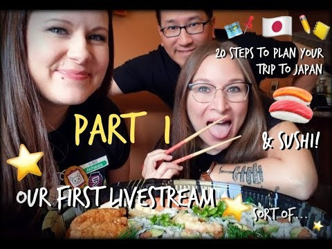 Planning Your Own Trip to Japan in 20 Steps  (+SUSHI!) - Part 1 |  Japan Without Japanese